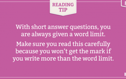 IELTS READING TIP