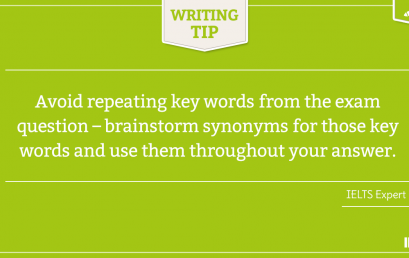 IELTS WRITING TIP